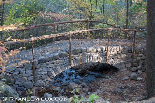How To Build A Stone Footbridge