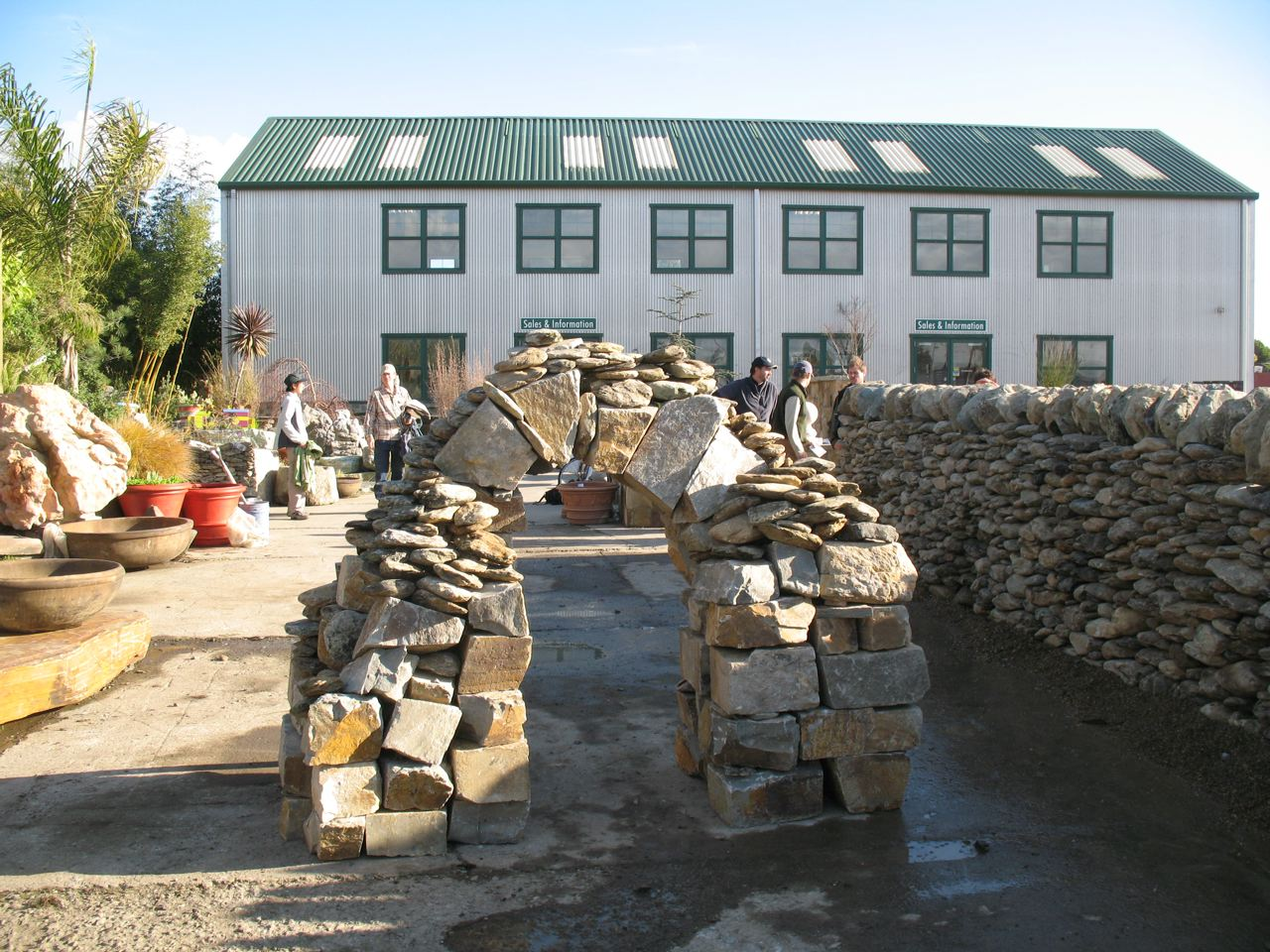 San francisco dry stone walling workshop dswac for American soil