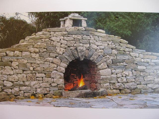 DSWAC outdoor dry stone fireplace contest